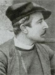 Gauguin in 1880, detail of a photograph. Photo: Wildenstein Institute Archives